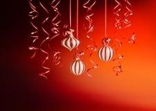 Ambiance de Noël Image libre de droits