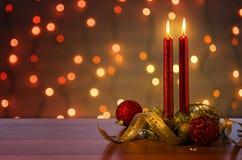 Ambiance de Noël Photographie stock libre de droits