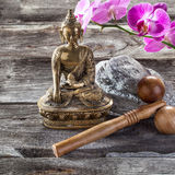 Ambiance for feng shui and ayurveda center Stock Photography