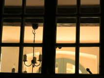 ambiance home looking in windo Royalty Free Stock Photos