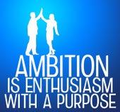 Ambicja i purpose ilustracji