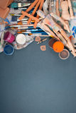 Ambience of art workplace. Royalty Free Stock Image