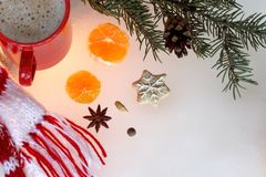 Ambience winter holidays Stock Images