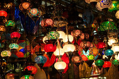 Ambient lighting from Asia. In shop display Stock Photography