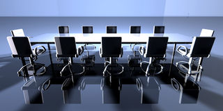 Ambient Meeting Room vector illustration