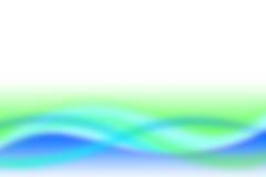 Ambiental verde do borrão Fotografia de Stock Royalty Free