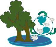 Ambiente ilustração royalty free