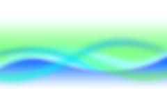 Ambiente azul de la falta de definición Fotografía de archivo