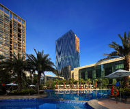 Ambiente da comunidade dos bens imobiliários de China Fotos de Stock
