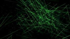 Ambiente das varas da ciência médica com verde do DOF ilustração do vetor