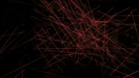 Ambiente das varas da ciência médica com vermelho do DOF ilustração royalty free