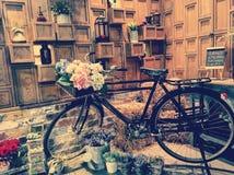 Ambiente del boutique en el restaurante imagenes de archivo
