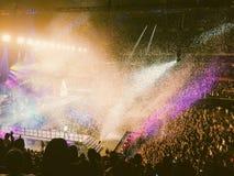 Ambiente del concierto Imagen de archivo