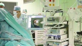 Ambiente del hospital almacen de video