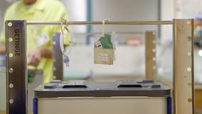 Ambiente del hospital almacen de metraje de vídeo