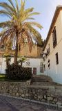 Ambiente della Alcazaba-Antequera-ANDALUSIA-SPAGNA immagini stock libere da diritti