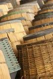 Ambiente di produzione vinicola immagine stock