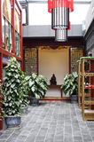 Ambiente do teahouse. Imagem de Stock Royalty Free