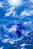 Ambiente ecológico e desenvolvimento sustentável imagem de stock