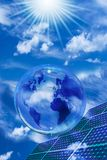 Ambiente ecologico e sviluppo sostenibile immagine stock