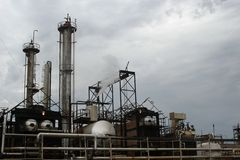 Ambiente industrial Fotografia de Stock