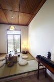 ambiente interior del Japonés-estilo Foto de archivo libre de regalías