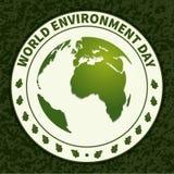 Ambiente mundial Day-01 ilustración del vector
