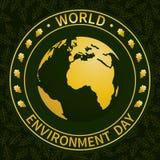 Ambiente mundial Day-04 stock de ilustración