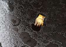 Ambiente sujo da poluição de petróleo foto de stock royalty free