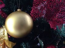 Ambientes de la Navidad Imagen de archivo