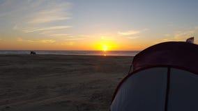 Ambientes de la playa foto de archivo