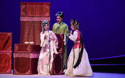 "Ambiguous atmosphere-Kunqu Opera ""the West Chamber"" Stock Photos"