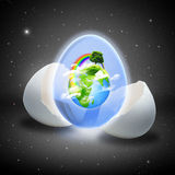 Ambiti di provenienza astratti ambientali. Immagine Stock