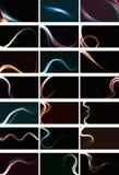 Ambiti di provenienza astratti confusi di effetto della luce. Fotografie Stock