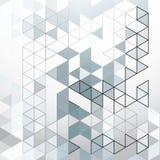 Ambiti di provenienza astratti del triangolo illustrazione vettoriale