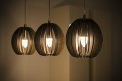Ambiti di provenienza astratti delle lampade Immagini Stock Libere da Diritti