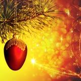 Ambiti di provenienza astratti di Natale Fotografia Stock