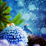 Ambiti di provenienza astratti di Natale Fotografia Stock Libera da Diritti
