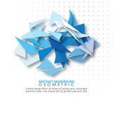 Ambiti di provenienza astratti e geometrici royalty illustrazione gratis
