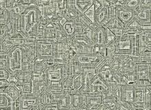 Ambiti di provenienza astratti futuristici struttura regolare digitale Immagine Stock
