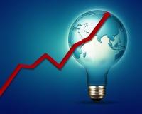 Ambiti di provenienza astratti di industria e di potere Immagini Stock