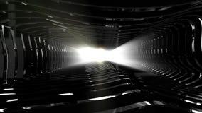ambiti di provenienza astratti neri di riflessione 4K video d archivio