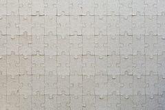 Ambiti di provenienza in bianco di puzzle Immagini Stock