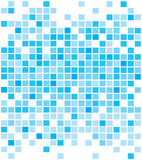Ambiti di provenienza blu astratti dei pixel illustrazione vettoriale