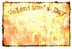 Ambiti di provenienza del biglietto di S. Valentino Fotografia Stock