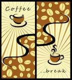 Ambiti di provenienza del caffè royalty illustrazione gratis