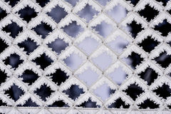 Ambiti di provenienza del fiocco di neve Immagine Stock