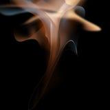 Ambiti di provenienza del fumo di Blured Fotografia Stock Libera da Diritti