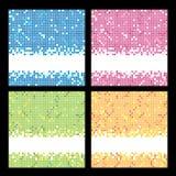Ambiti di provenienza del mosaico Fotografie Stock Libere da Diritti