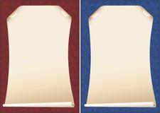 Ambiti di provenienza del papiro Fotografia Stock